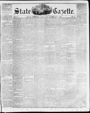 Primary view of object titled 'State Gazette. (Austin, Tex.), Vol. 9, No. 37, Ed. 1, Saturday, May 1, 1858'.