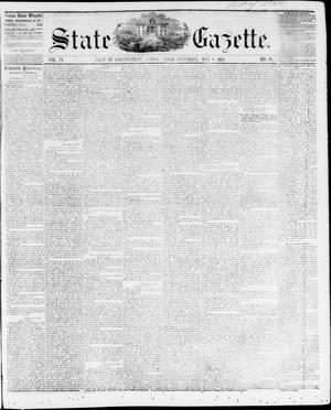 Primary view of object titled 'State Gazette. (Austin, Tex.), Vol. 9, No. 38, Ed. 1, Saturday, May 8, 1858'.