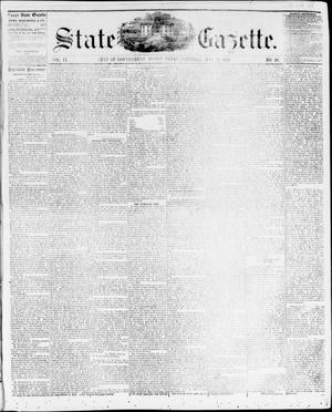 Primary view of object titled 'State Gazette. (Austin, Tex.), Vol. 9, No. 40, Ed. 1, Saturday, May 22, 1858'.