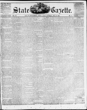 Primary view of object titled 'State Gazette. (Austin, Tex.), Vol. 9, No. 41, Ed. 1, Saturday, May 29, 1858'.