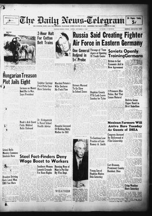 Primary view of object titled 'The Daily News-Telegram (Sulphur Springs, Tex.), Vol. 51, No. 216, Ed. 1 Sunday, September 11, 1949'.