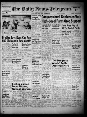 Primary view of object titled 'The Daily News-Telegram (Sulphur Springs, Tex.), Vol. 51, No. 246, Ed. 1 Sunday, October 16, 1949'.