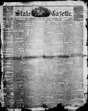 Primary view of object titled 'State Gazette. (Austin, Tex.), Vol. 10, No. 18, Ed. 1, Saturday, December 11, 1858'.