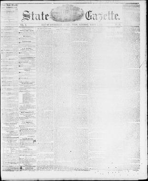 Primary view of object titled 'State Gazette. (Austin, Tex.), Vol. 10, No. 30, Ed. 1, Saturday, March 5, 1859'.