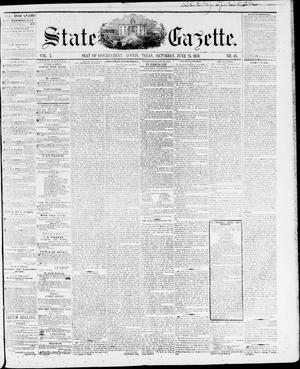 Primary view of object titled 'State Gazette. (Austin, Tex.), Vol. 10, No. 46, Ed. 1, Saturday, June 25, 1859'.