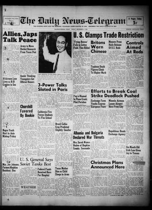 Primary view of The Daily News-Telegram (Sulphur Springs, Tex.), Vol. 51, No. 263, Ed. 1 Friday, November 4, 1949