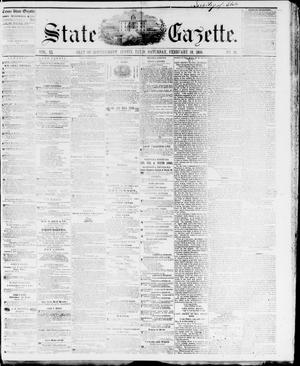 Primary view of object titled 'State Gazette. (Austin, Tex.), Vol. 11, No. 28, Ed. 1, Saturday, February 18, 1860'.