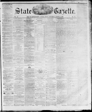 Primary view of object titled 'State Gazette. (Austin, Tex.), Vol. 11, No. 30, Ed. 1, Saturday, March 3, 1860'.