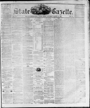 Primary view of object titled 'State Gazette. (Austin, Tex.), Vol. 11, No. 33, Ed. 1, Saturday, March 24, 1860'.