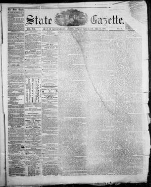 Primary view of object titled 'State Gazette. (Austin, Tex.), Vol. 12, No. 19, Ed. 1, Saturday, December 15, 1860'.