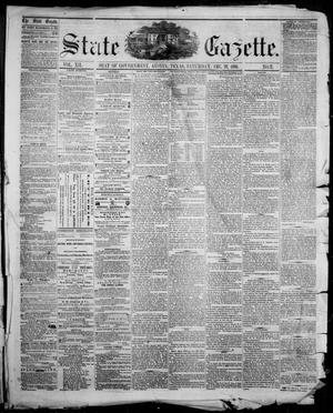 Primary view of object titled 'State Gazette. (Austin, Tex.), Vol. 12, No. 21, Ed. 1, Saturday, December 29, 1860'.