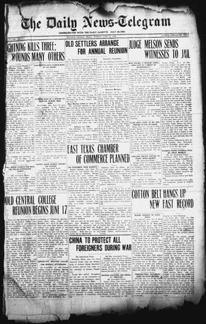 Primary view of object titled 'The Daily News-Telegram (Sulphur Springs, Tex.), Vol. 27, No. 135, Ed. 1 Sunday, June 14, 1925'.