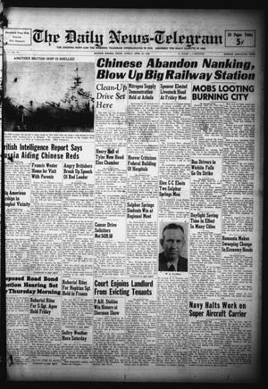 Primary view of object titled 'The Daily News-Telegram (Sulphur Springs, Tex.), Vol. 51, No. 97, Ed. 1 Sunday, April 24, 1949'.
