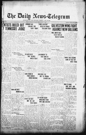 Primary view of object titled 'The Daily News-Telegram (Sulphur Springs, Tex.), Vol. 27, No. 162, Ed. 1 Friday, July 17, 1925'.