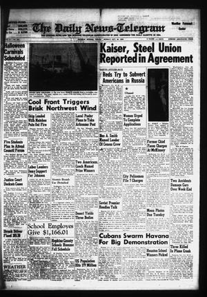 Primary view of object titled 'The Daily News-Telegram (Sulphur Springs, Tex.), Vol. 81, No. 292, Ed. 1 Monday, October 26, 1959'.