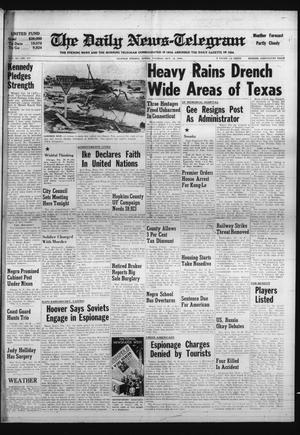 Primary view of object titled 'The Daily News-Telegram (Sulphur Springs, Tex.), Vol. 82, No. 247, Ed. 1 Tuesday, October 18, 1960'.