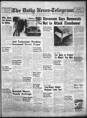Primary view of object titled 'The Daily News-Telegram (Sulphur Springs, Tex.), Vol. 54, No. 288, Ed. 1 Thursday, December 4, 1952'.
