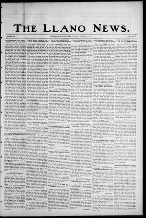Primary view of object titled 'The Llano News. (Llano, Tex.), Vol. 45, No. 44, Ed. 1 Thursday, October 12, 1933'.