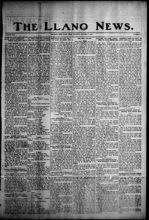 Primary view of object titled 'The Llano News. (Llano, Tex.), Vol. 45, No. 3, Ed. 1 Thursday, October 27, 1932'.
