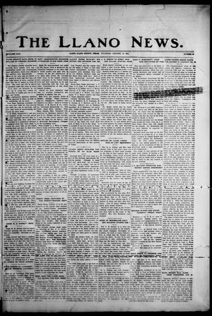 Primary view of object titled 'The Llano News. (Llano, Tex.), Vol. 43, No. 15, Ed. 1 Thursday, January 15, 1931'.