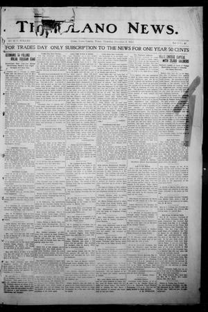 Primary view of object titled 'The Llano News. (Llano, Tex.), Vol. 31, No. 47, Ed. 1 Thursday, December 3, 1914'.