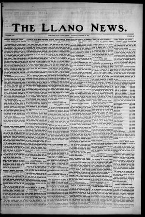 Primary view of object titled 'The Llano News. (Llano, Tex.), Vol. 44, No. 3, Ed. 1 Thursday, October 22, 1931'.