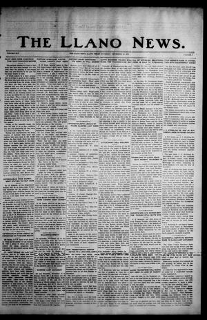 Primary view of object titled 'The Llano News. (Llano, Tex.), Vol. 45, No. 7, Ed. 1 Thursday, November 24, 1932'.