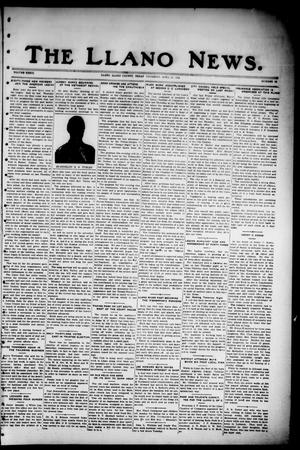 Primary view of object titled 'The Llano News. (Llano, Tex.), Vol. 36, No. 35, Ed. 1 Thursday, April 10, 1924'.