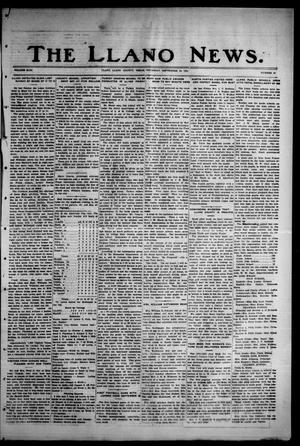 Primary view of object titled 'The Llano News. (Llano, Tex.), Vol. 43, No. 49, Ed. 1 Thursday, September 10, 1931'.