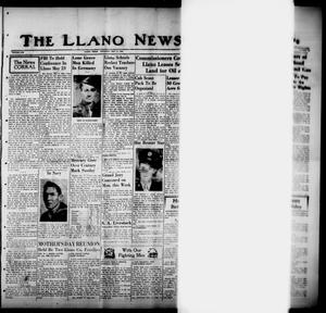 Primary view of object titled 'The Llano News. (Llano, Tex.), Vol. 57, No. 24, Ed. 1 Thursday, May 17, 1945'.