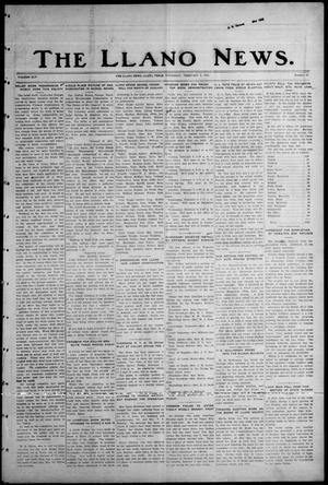 Primary view of object titled 'The Llano News. (Llano, Tex.), Vol. 45, No. 16, Ed. 1 Thursday, February 2, 1933'.