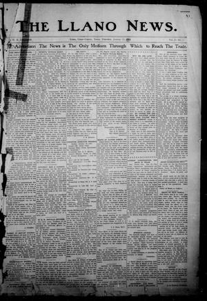 Primary view of object titled 'The Llano News. (Llano, Tex.), Vol. 29, No. 27, Ed. 1 Thursday, January 23, 1913'.