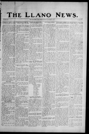 Primary view of object titled 'The Llano News. (Llano, Tex.), Vol. 45, No. 50, Ed. 1 Thursday, November 23, 1933'.