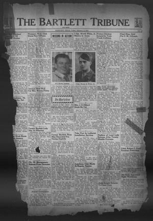 Primary view of object titled 'The Bartlett Tribune and News (Bartlett, Tex.), Vol. 58, No. 19, Ed. 1, Friday, February 2, 1945'.