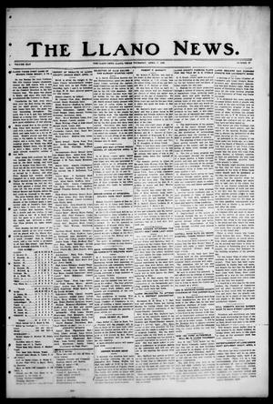 Primary view of object titled 'The Llano News. (Llano, Tex.), Vol. 44, No. 27, Ed. 1 Thursday, April 7, 1932'.