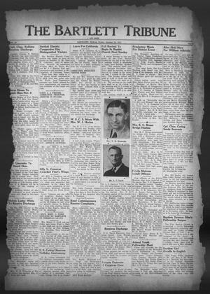 Primary view of object titled 'The Bartlett Tribune and News (Bartlett, Tex.), Vol. 59, No. 5, Ed. 1, Friday, October 26, 1945'.