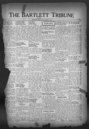 Primary view of object titled 'The Bartlett Tribune and News (Bartlett, Tex.), Vol. 59, No. 6, Ed. 1, Friday, November 2, 1945'.