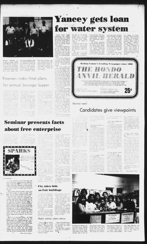Primary view of object titled 'The Hondo Anvil Herald (Hondo, Tex.), Vol. 96, No. 12, Ed. 1 Thursday, March 25, 1982'.