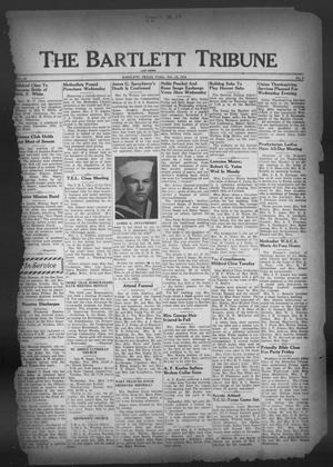 Primary view of object titled 'The Bartlett Tribune and News (Bartlett, Tex.), Vol. 59, No. 9, Ed. 1, Friday, November 23, 1945'.