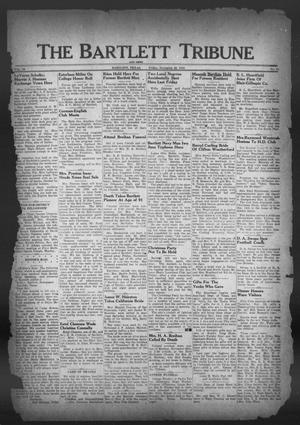 Primary view of object titled 'The Bartlett Tribune and News (Bartlett, Tex.), Vol. 59, No. 10, Ed. 1, Friday, November 30, 1945'.
