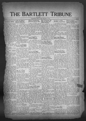 Primary view of object titled 'The Bartlett Tribune and News (Bartlett, Tex.), Vol. 59, No. 12, Ed. 1, Friday, December 14, 1945'.
