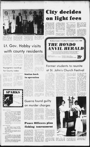 Primary view of object titled 'The Hondo Anvil Herald (Hondo, Tex.), Vol. 96, No. 28, Ed. 1 Thursday, July 15, 1982'.