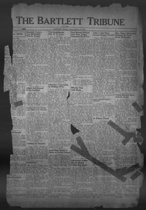 Primary view of object titled 'The Bartlett Tribune and News (Bartlett, Tex.), Vol. 59, No. 16, Ed. 1, Friday, January 18, 1946'.