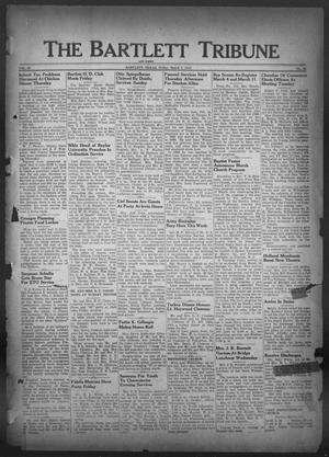 Primary view of object titled 'The Bartlett Tribune and News (Bartlett, Tex.), Vol. 59, No. 22, Ed. 1, Friday, March 1, 1946'.