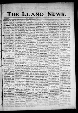 Primary view of object titled 'The Llano News. (Llano, Tex.), Vol. 40, No. 17, Ed. 1 Thursday, January 12, 1928'.