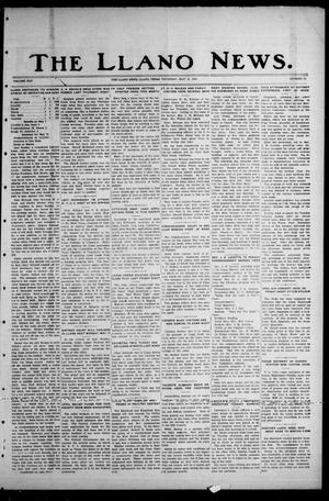 Primary view of object titled 'The Llano News. (Llano, Tex.), Vol. 45, No. 25, Ed. 1 Thursday, May 11, 1933'.