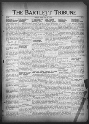 Primary view of object titled 'The Bartlett Tribune and News (Bartlett, Tex.), Vol. 59, No. 41, Ed. 1, Friday, July 12, 1946'.