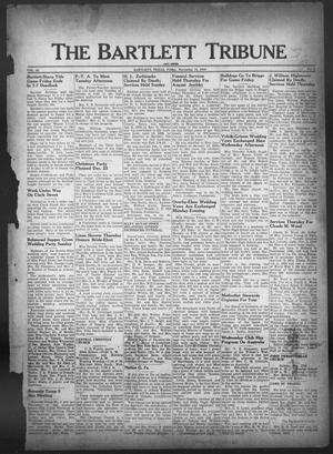Primary view of object titled 'The Bartlett Tribune and News (Bartlett, Tex.), Vol. 60, No. 6, Ed. 1, Friday, November 15, 1946'.