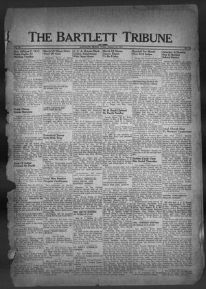 Primary view of object titled 'The Bartlett Tribune and News (Bartlett, Tex.), Vol. 62, No. 12, Ed. 1, Friday, January 28, 1949'.