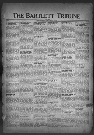 Primary view of object titled 'The Bartlett Tribune and News (Bartlett, Tex.), Vol. 62, No. 14, Ed. 1, Friday, February 11, 1949'.